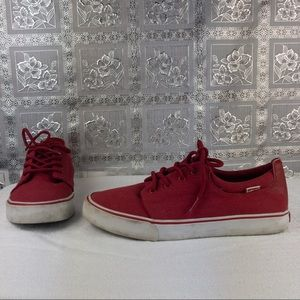 Levi's Men's Red Sneakers Size 8